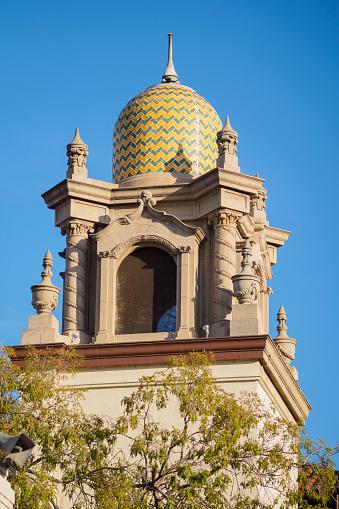 Methodist「Cupola on church in La Placita Olvera plaza」:スマホ壁紙(7)