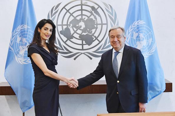 Secretary-General「Amal Clooney Visits The Secretary-General Of The United Nations Antonio Guterres」:写真・画像(18)[壁紙.com]