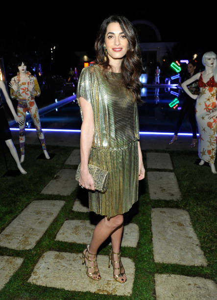 Amal Clooney「Farfetch and William Vintage Celebrate Gianni Versace Archive hosted by Elizabeth Stewart and William Banks-Blaney」:写真・画像(19)[壁紙.com]