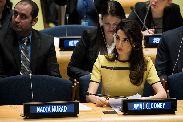 United Nations Building「Amal Clooney Addresses UN High Level Event On Bringing ISIL To Justice」:写真・画像(13)[壁紙.com]