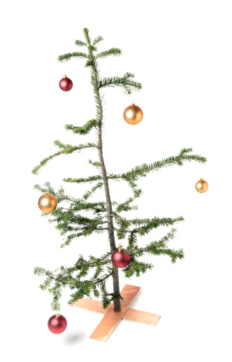 Weakness「Charlie Brown-style Christmas tree, a symbol of tough economic times?」:スマホ壁紙(3)