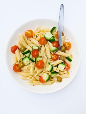 Cherry Tomato「Fresh pasta salad for a great dinner」:スマホ壁紙(13)
