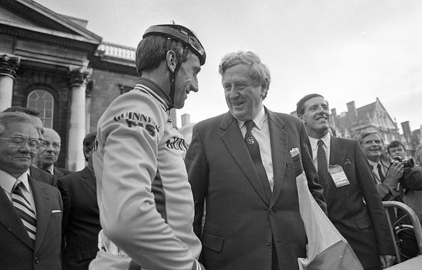 Trinity College - Dublin「Taoiseach Fitzgerald & Cyclist Kelly At Nissan Classic」:写真・画像(15)[壁紙.com]