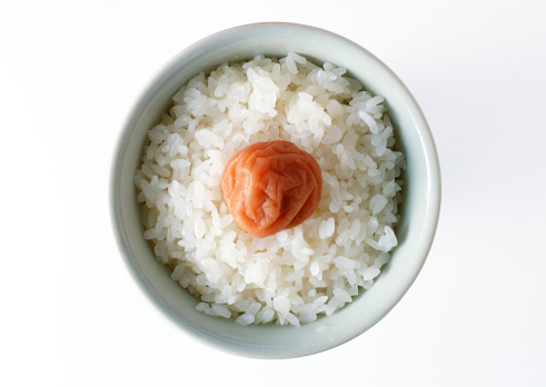 Japanese Food「Rice with Pickled Plum」:スマホ壁紙(10)