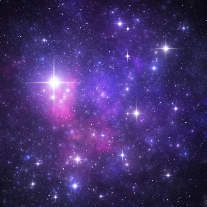 星空「ブルーの星空天国」:スマホ壁紙(18)