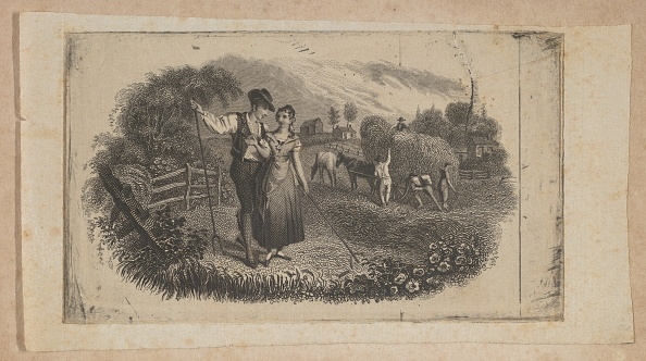 Agricultural Activity「Banknote Vignette With Haymakers Symbolizing Rural Industry」:写真・画像(3)[壁紙.com]