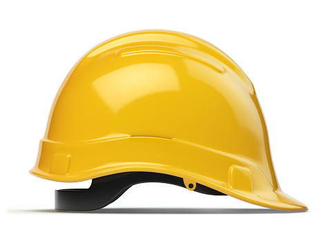 Hardhat「Yellow hard hat, safety helmet isolated on white」:スマホ壁紙(19)