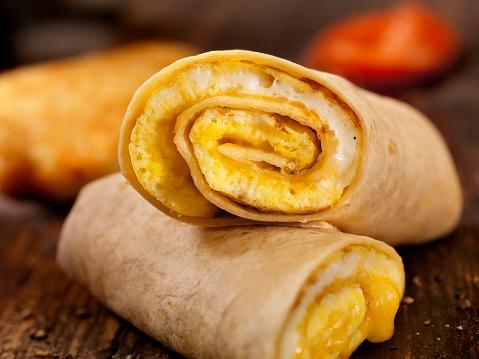 Tortilla - Flatbread「Egg and Cheese Omelette Breakfast Wrap」:スマホ壁紙(17)