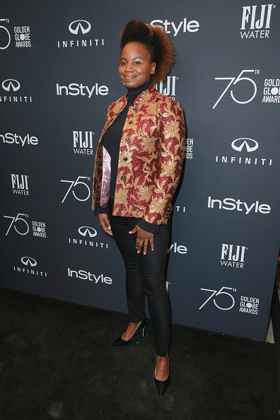 お祝い「Hollywood Foreign Press Association And InStyle Celebrate The 75th Anniversary Of The Golden Globe Awards - Arrivals」:写真・画像(18)[壁紙.com]