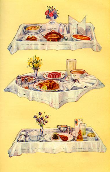 Baked Potato「Mrs Beeton s cookery book - invalid tray」:写真・画像(11)[壁紙.com]