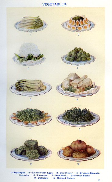 Stoneware「Mrs Beeton 's cookery book - vegetables」:写真・画像(18)[壁紙.com]