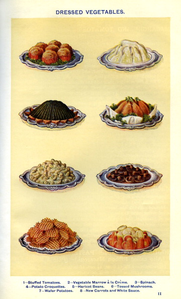 Carrot「Mrs Beeton 's cookery book - dressed vegetables」:写真・画像(8)[壁紙.com]