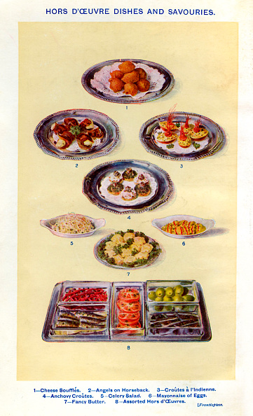 Illustration「Mrs Beeton 's cookery book -  dishes and savouries」:写真・画像(15)[壁紙.com]