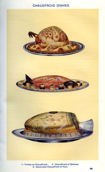 Crockery「Mrs Beeton 's cookery book - chaudfroid dishes」:写真・画像(3)[壁紙.com]