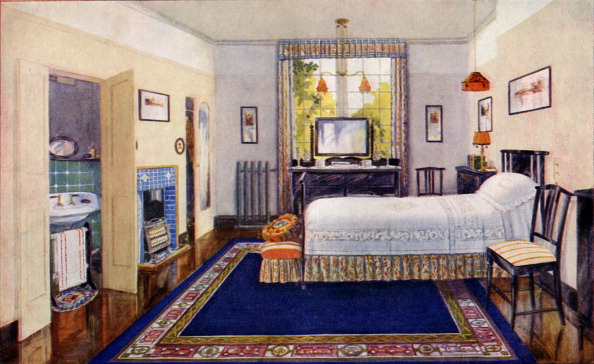Bedroom「Mrs  Beeton cookery book - Modern Bedroom」:写真・画像(19)[壁紙.com]