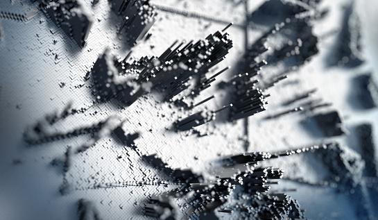Node - Data「Big Data Abstract Background」:スマホ壁紙(14)