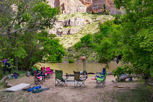 Camping「Rafting the Yampa」:スマホ壁紙(13)