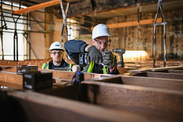 Construction Industry「Restoration Work Continues At Glasgow School Of Art」:写真・画像(0)[壁紙.com]