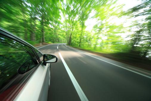 かえる「Speeding car」:スマホ壁紙(17)