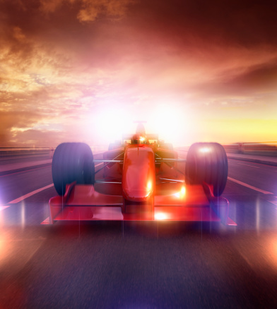 Motor Racing Track「speeding car」:スマホ壁紙(11)