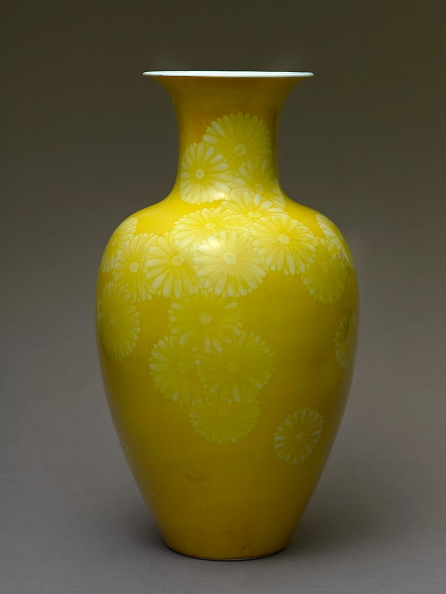 Vase「Baluster Vase With Stylized Chrysanthemums」:写真・画像(10)[壁紙.com]