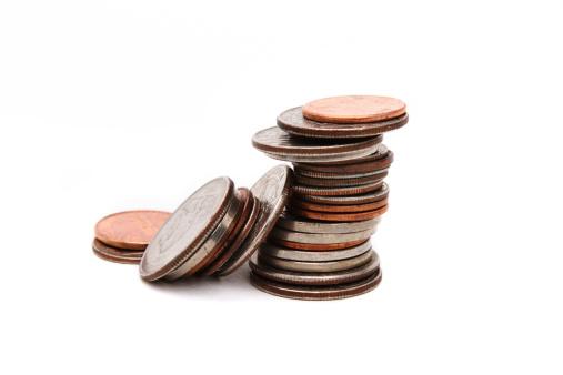 Nickel「Stack of various coins closeup」:スマホ壁紙(16)