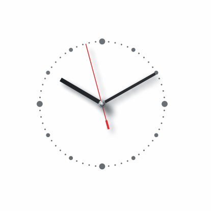 Clock「watch pointing at 10 past 10  on white」:スマホ壁紙(2)