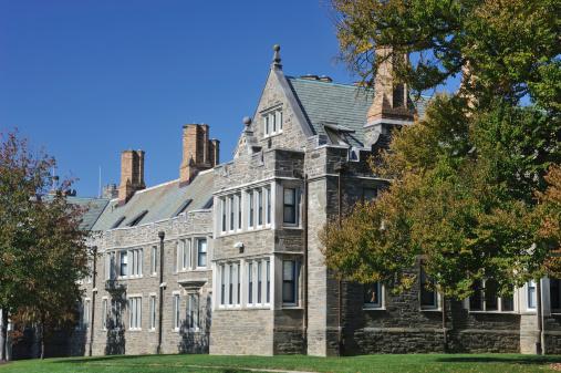 Pennsylvania「Campus Building in Bryn Mawr College」:スマホ壁紙(4)