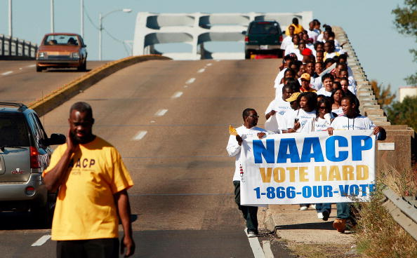 NAACP「Former Civil Rights Battlegrounds Await Culmination Of Historic Election」:写真・画像(1)[壁紙.com]