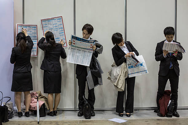 College Students Attend Job Fair In Japan:ニュース(壁紙.com)