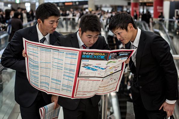 Japan「College Students Attend Job Fair In Japan」:写真・画像(3)[壁紙.com]