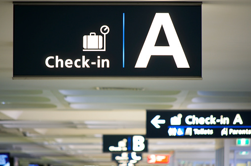 Letter A「Airport Check-in Area」:スマホ壁紙(4)