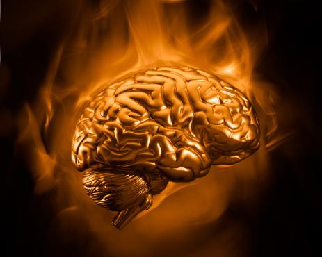Evil「Gold Brain」:スマホ壁紙(12)