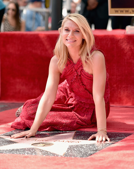 Respect「Claire Danes Honored With Star On The Hollywood Walk Of Fame」:写真・画像(14)[壁紙.com]