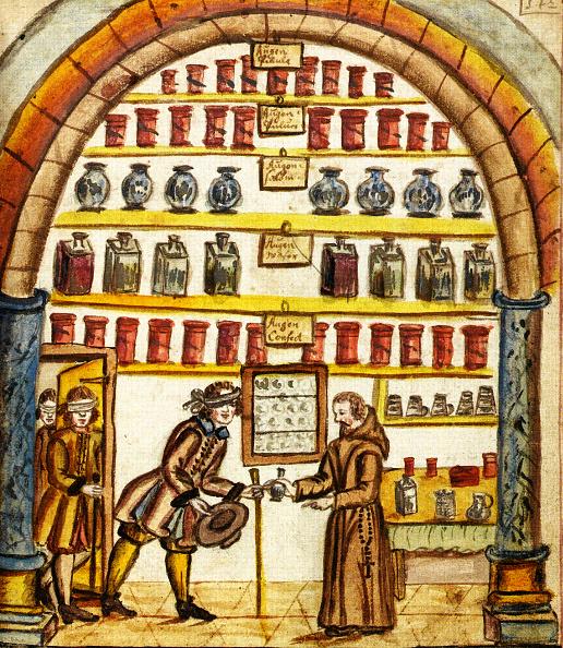 Herb「Monk Dispenses Medicine」:写真・画像(2)[壁紙.com]