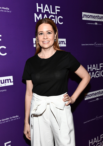 "Jenna Fischer「Premiere Of Momentum Pictures' ""Half Magic"" - Red Carpet」:写真・画像(10)[壁紙.com]"
