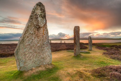 Ancient History「Ring of Brodgar ancient stones, Orkney」:スマホ壁紙(16)