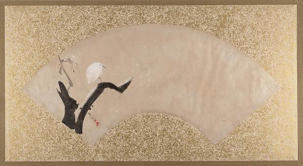 Tempera Painting「Egret On Tree Stump」:写真・画像(11)[壁紙.com]