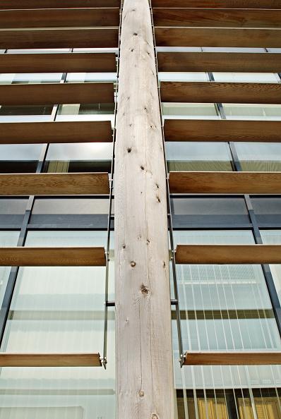Felixstowe「Wooden exterior sun blinds on a maritime headquarters building, Felixstowe, Suffolk, UK」:写真・画像(17)[壁紙.com]