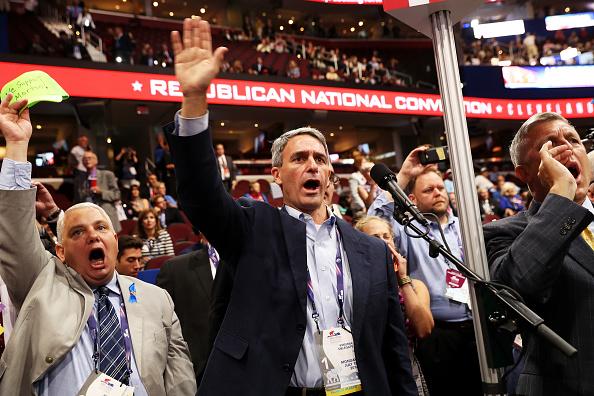 オハイオ州 クリーブランド「Republican National Convention: Day One」:写真・画像(13)[壁紙.com]