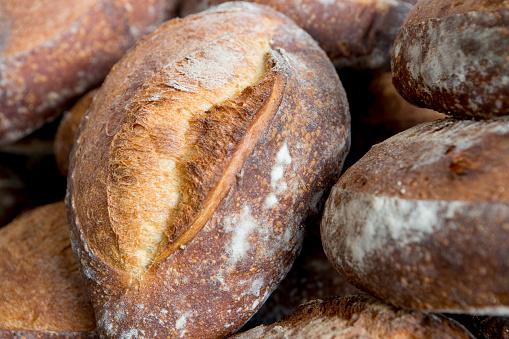Loaf of Bread「Rustic Bread, Close Up」:スマホ壁紙(11)