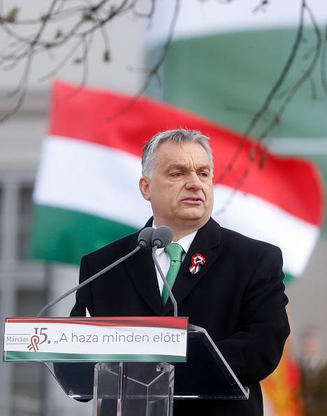 Laszlo Balogh「Hungarian PM Orban Makes National Day Address」:写真・画像(5)[壁紙.com]