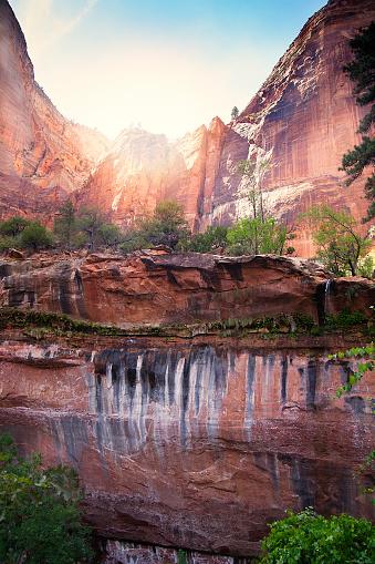 Utah「Zion National Park rocks」:スマホ壁紙(10)