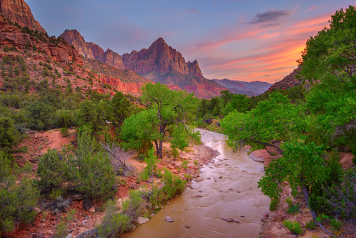 Perfection「Zion National Park at sunset」:スマホ壁紙(0)