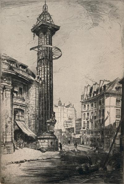 Etching「'The Astrological Column of Catherine de Medici', 1915」:写真・画像(11)[壁紙.com]