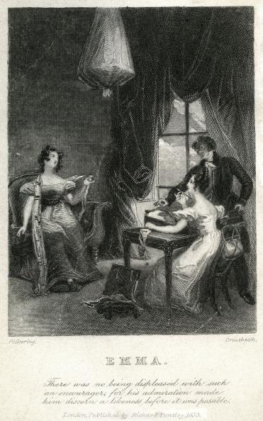 絵「Emma by Jane Austen - frontispiece」:写真・画像(10)[壁紙.com]