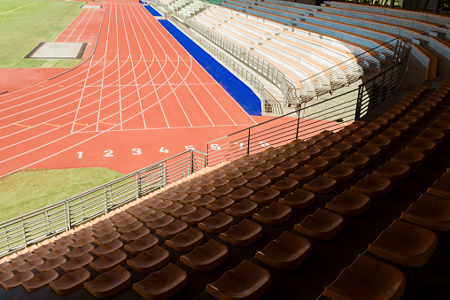 Track and Field Stadium「Italy, Florence, track and field stadium」:スマホ壁紙(14)