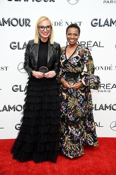 フロアレングス「2018 Glamour Women Of The Year Awards: Women Rise - Backstage」:写真・画像(10)[壁紙.com]