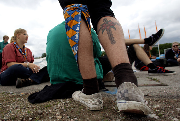 Tattoo「Thousands Meet For 2nd Ecumenical Kirchentag」:写真・画像(12)[壁紙.com]