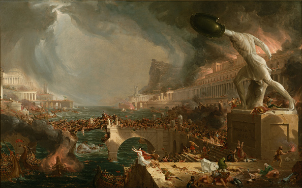 Painting - Activity「The Course Of Empire Destruction 1836」:写真・画像(11)[壁紙.com]